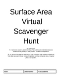 Virtual Surface Area Scavenger Hunt