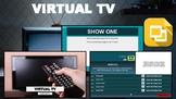 Virtual TV (Editable in Google Slides)