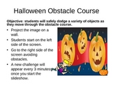 Virtual Teacher - Halloween Obstacle Course