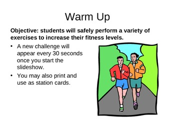 Virtual Teacher - Warm Up