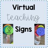 Virtual Teaching Signs/Symbols