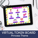 Virtual Token Boards-Princess Theme (Behavior Management, Reward System) (Boom)