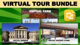 Virtual Tour Bundle (Editable in Google Slides)