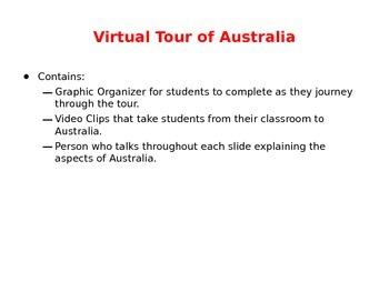 Virtual Tour of Australia