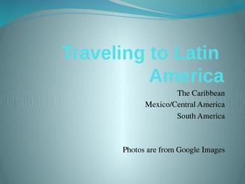 Virtual Tour of South America - 6th Grade SS