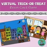 Virtual Trick-or-Treat: Boom Card Game for Speech Therapy