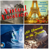 Virtual Vacation - Writing Prompts
