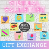 Virtual Valentine Class Gift Exchange| EDITABLE | Distance