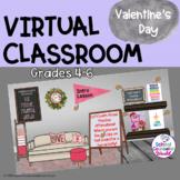 Virtual Valentine Classroom: SEL Lesson, Positive Peer Aff