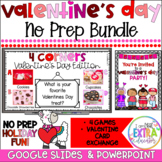 Virtual Valentine's Day Party Bundle|Digital Activities and Games