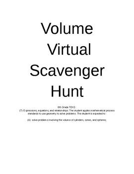 Virtual Volume Scavenger Hunt