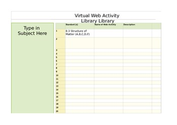 Virtual Web Activity Organizer