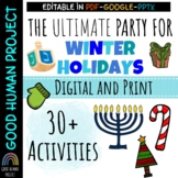 Virtual Winter Holiday Class Party Activities|Remote&In-Pe