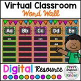 Virtual Word Wall Editable Cards | For Google Slides™ | Di