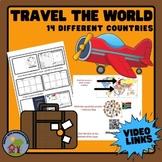 Travel Around the World - 14 virtual field trips