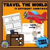 Virtual World Traveler! Visit 14 Different Countries- Grea
