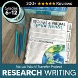 Virtual World Traveler Research Project & Global Awareness