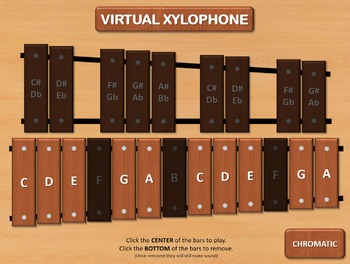 Virtual Xylophone for PowerPoint