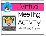 Virtual Meeting Activity - Identifying Shapes