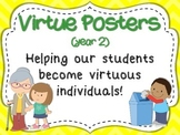 Virtue Posters (Year 2) for Primary Grades