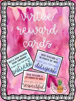 Virtue Reward Cards