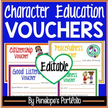Good Behavior Vouchers