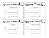 Virtue Vouchers for Positive Behavior by Erica