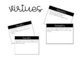 Virtues Powerpoints *Editable*