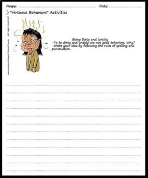 Virtuous Behaviors Writing Exercises