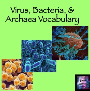 Virus, Bacteria and Archaea Vocabulary