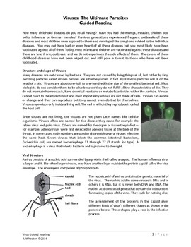 Virus Guided Reading