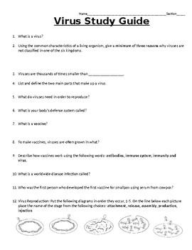 Virus Study Guide