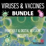 Viruses & Vaccines Bundle (Covid-19) Printable & Digital |