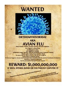 Virus Wanted Poster