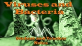 Virus and Bacteria Notes