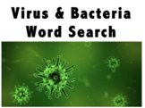 Virus and Bacteria Word Search