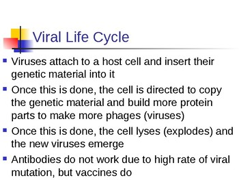 Virus and Cellular Transport Notes