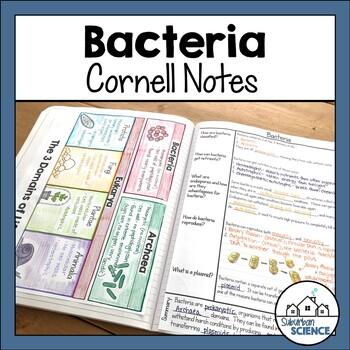 Viruses & Bacteria Powerpoint & Interactive Notebook