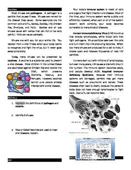 Viruses & Bacteria Workbook