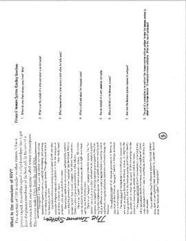 Viruses Immunity Guided Reading Questions