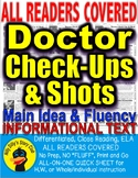 Viruses Vaccines Dr. Check Ups Shots Close Reading Leveled