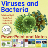 Viruses and Bacteria Powerpoint   Printable and Digital Distance Learning