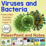 Viruses and Bacteria Powerpoint | Printable and Digital Di