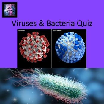 Viruses and Bacteria Quiz