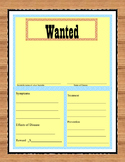 Viruses and Bacteria Wanted Poster