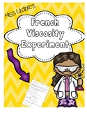 Viscosity Experiment French