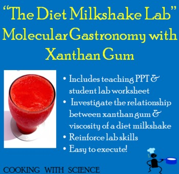 Viscosity & Molecular Gastronomy: The Diet Milkshake Investigation
