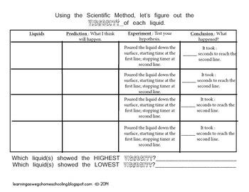 Viscosity - Science Experiment #2