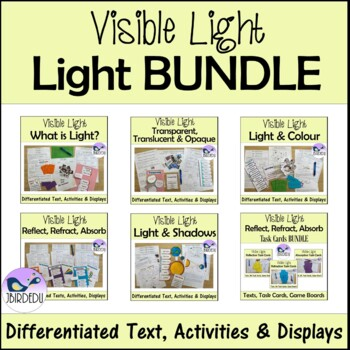 Visible Light BUNDLE. Differentiated Information Texts
