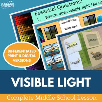 Visible Light Complete 5E Lesson Plan